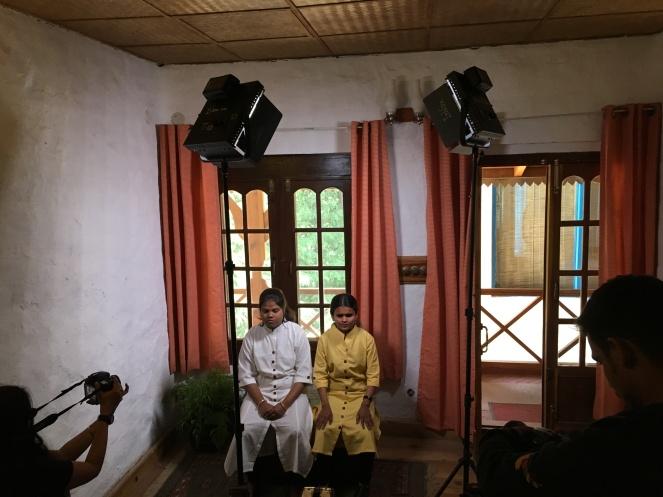 Neha and Laxmi