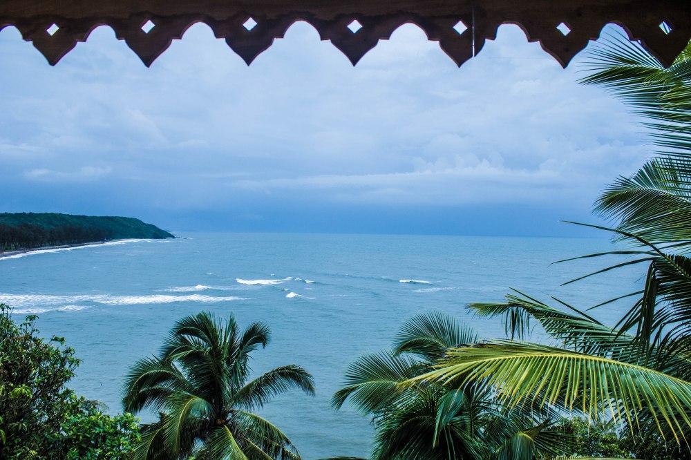Tiracol fort, keri, Goa